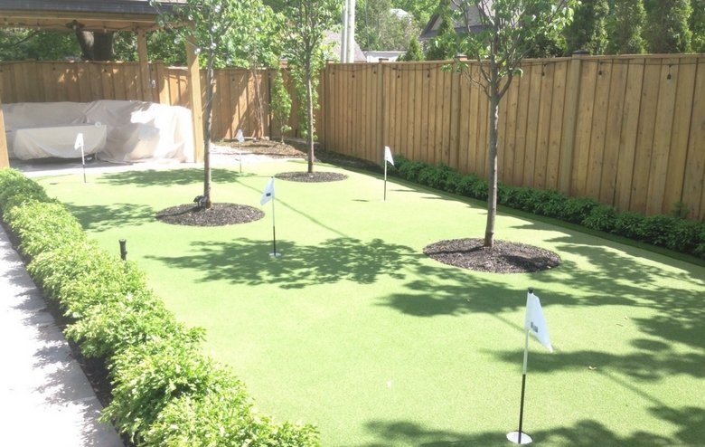 Synthetic Putting Green Systems