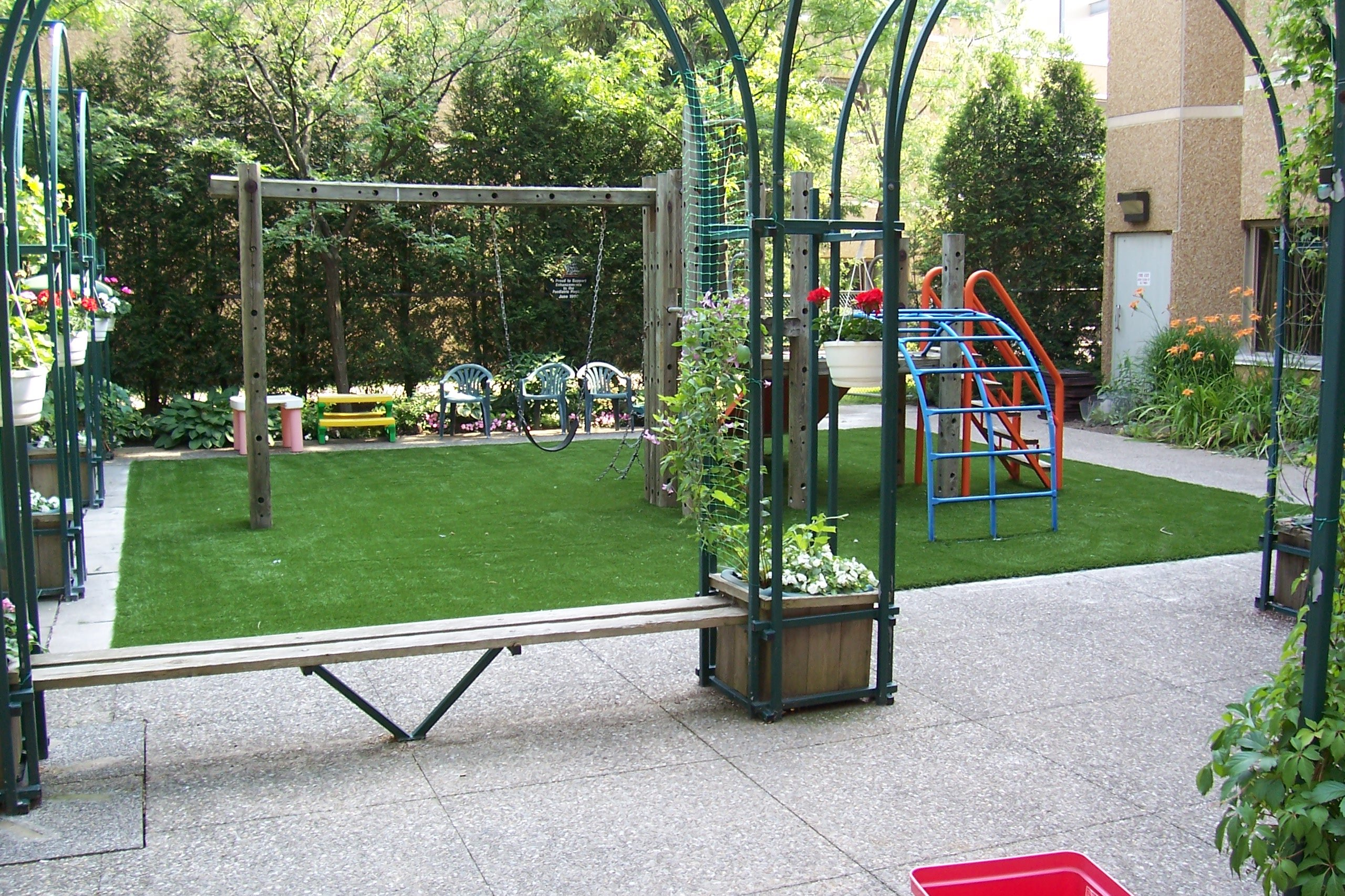 Synthetic Playground Turf