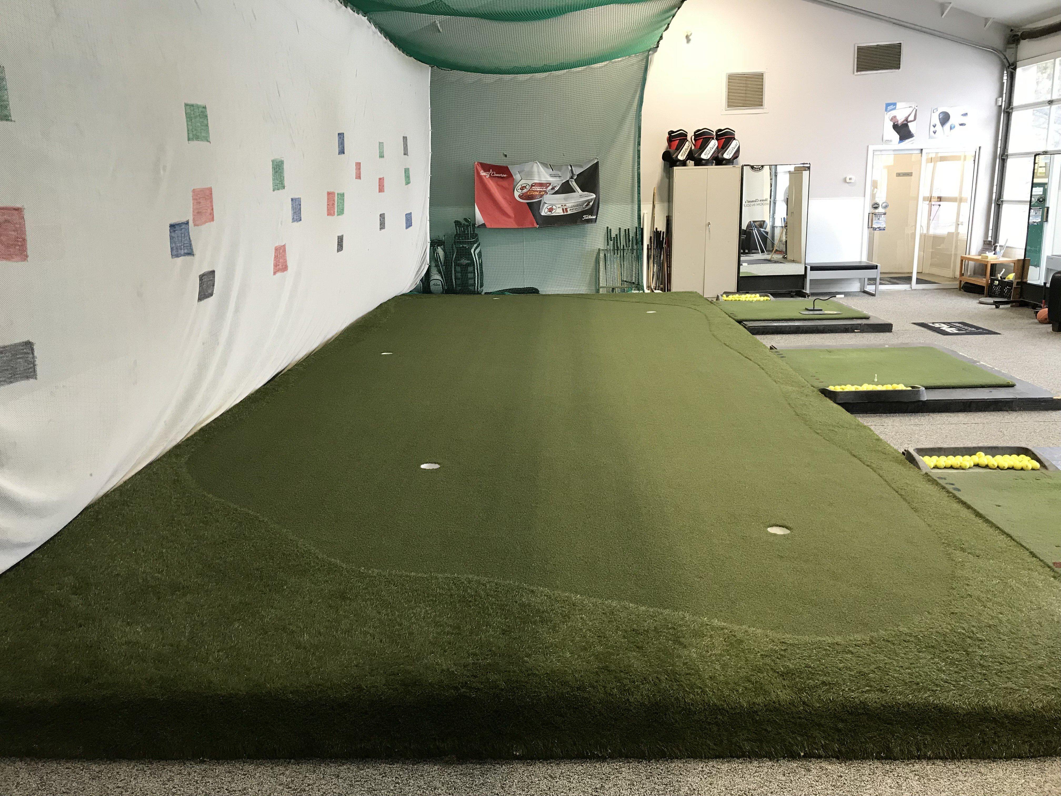PG AUGUSTA Artificial Golf Green Turf Installation